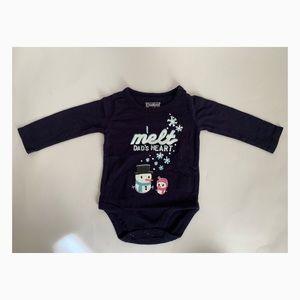 Oshkosh 6 mos. Baby Girl's Melt My Heart Shirt